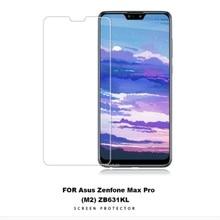 2Pcs/lot Tempered Glass For Asus Zenfone Max Pro M2 ZB631KL Screen Protector Premium Film ZB633KL