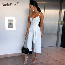 Plus Size Backless Sexy Jumpsuit