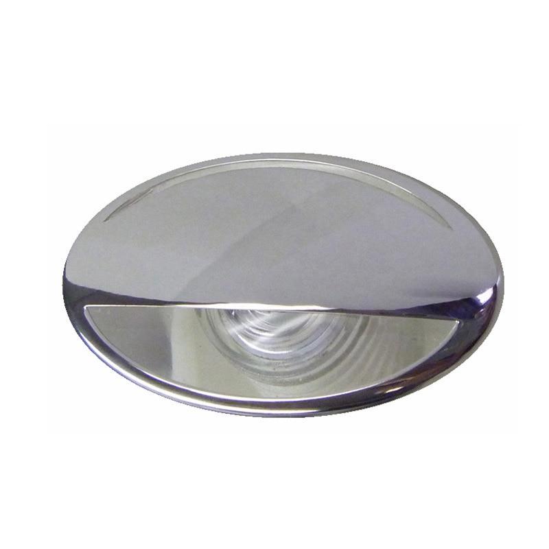 316 Stainless Steel LED RV Marine Boat Light Down Courtesy Light 12V DC