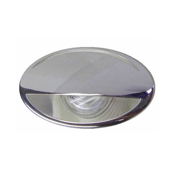316 de aço inoxidável led rv marinha barco luz para baixo cortesia luz 12 v dc