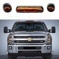Universal LED Luz Superior Do Telhado Marcador Lâmpadas Âmbar Lens Para Táxi de Condução Off Road