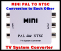 1080P HD MINI TV System Converter PAL to NTSC Adapter (Conversion to each other) for DVD/VCR/DVR/PS2/TV/Monitor/Projector