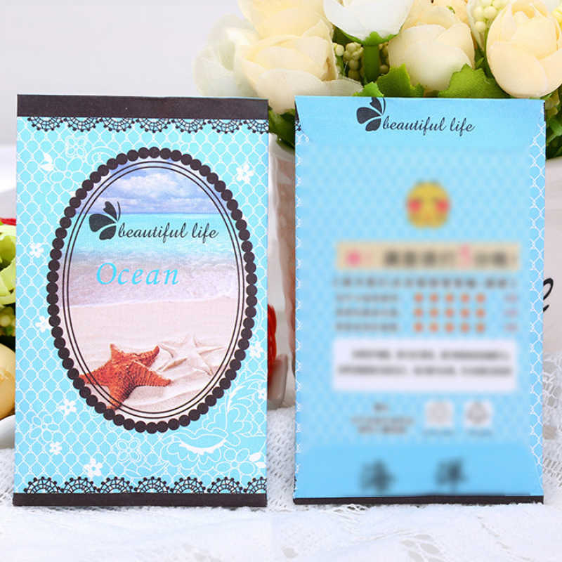 Beautiful Life Lily Natural Smell Incense 1PC Aromatherapy Rose Strawberry Refreshing Scent Bag Air Fresh Wardrobe Sachet Ocean