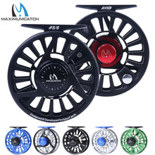 Maximumcatch Fly Fishing Reel 3/4/5/6/7/8WT CNC Machined Aluminium Micro Adjusting Drag Fly Reel(China)