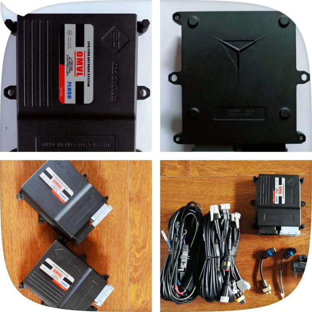 Kits de conversion de gnc de dispositif de carburant alternatif d'omvl pour l'unité de commande d'injection de voiture ECU séquentiel multipoint