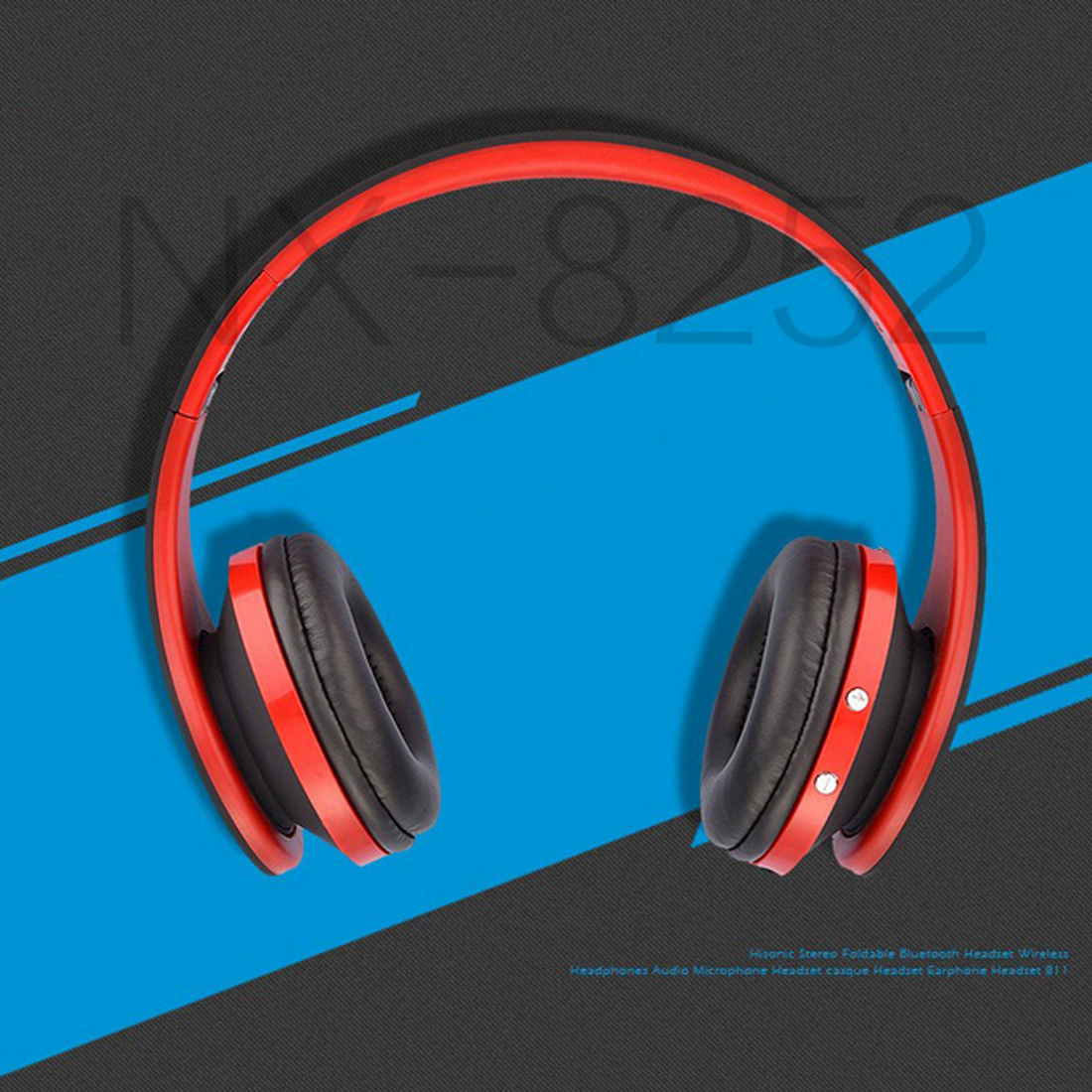 Marsnaska Foldable Audio Bluetooth Handsfree Stereo Wireless Headphones Headset wireless Earphone for Computer PC Headphone remax bluetooth 4 1 wireless headphones music earphone stereo foldable headset handsfree noise reduction for iphone 7 galaxy htc