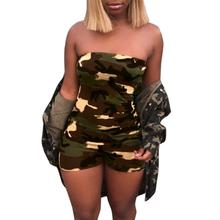 Free Ostrich Women Fashion Camouflage Print Jumpsuits Rompers Short Sleeveless Rompers Overalls Summer Playsuits Rompers D2335 cheap Polyester Jumpsuits Rompers Casual NONE Broadcloth REGULAR playsuit women Drop Shipping Wholesales Pls contact with us if in bulk order