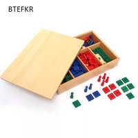 Montessori Stamp Game Math Toys for Early Childhood Education Preschool Training Kids Toys Baby kids Gift Brinquedos