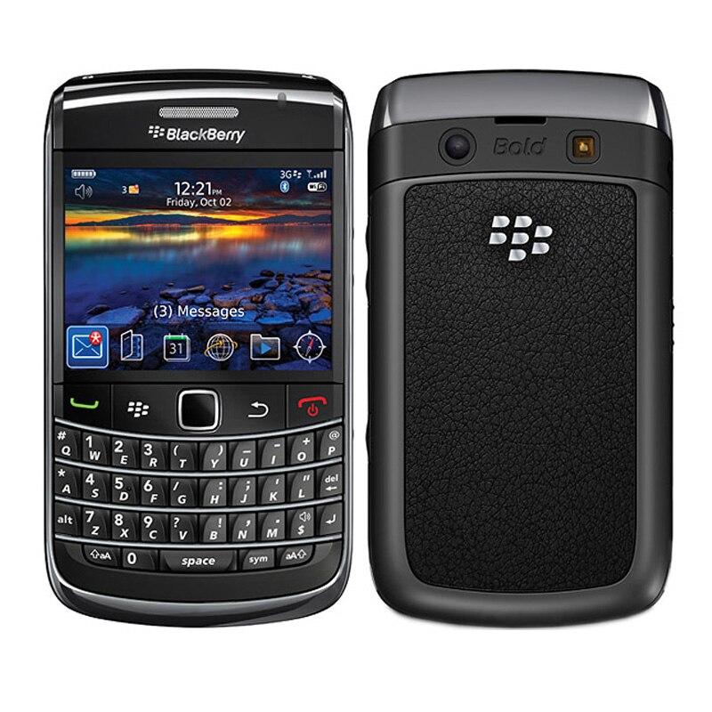 Blackberry original bold 9700 telefone móvel 5mp 3g wifi gps  bluetooth qwerty teclado