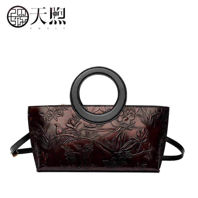 Famous brand top quality dermis women bag Pmsix2017 new leather fashion handbags Embossed leather handbag Original designer все цены