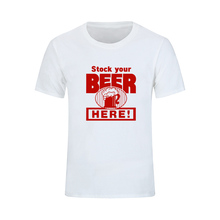 Stock your beer here – men's shirt