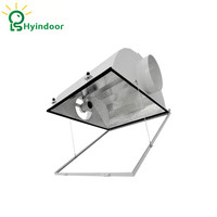 Hps Grow Lights Air Cooled Grow Lights Reflector 6 Inches Aluminum Fixture Lamp Covers
