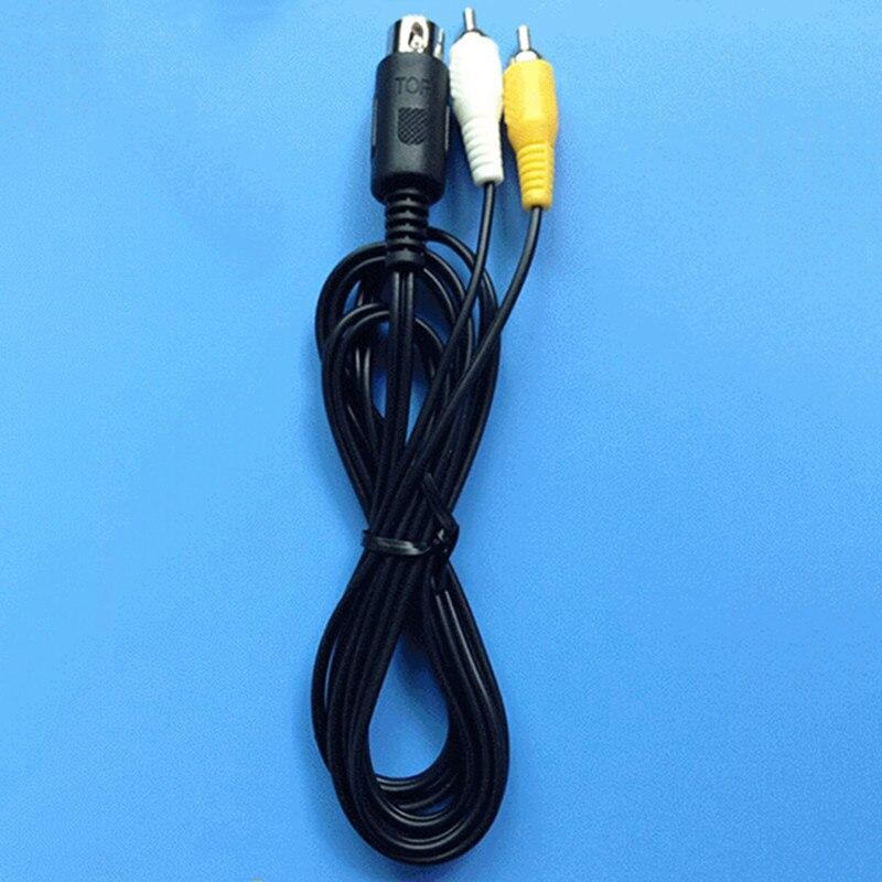 Videospiele Unterhaltungselektronik 100 Stücke Viele Top Qualität 1,8 Mt Schwarz Länge Rundkabel Für Sega Genesis1 Game System Comosite Rca Audio Video Kabel SchüTtelfrost Und Schmerzen