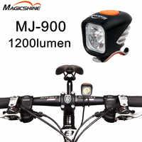 MagicShine MJ-900 1200 ルーメン自転車ヘッドライトマウンテンバイク道路自転車ライト USB 充電懐中電灯防水超高輝度