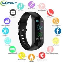 M3 Smart Bracelet Color-screen IP67 Waterproof Fitness Tracker Blood Pressure Heart Rate Monitor Wrist Band Smartband pk mi band