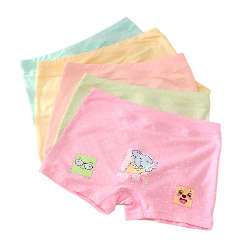 4pcspack Berngi Fashion New Baby Girls Underwear 100% Cotton Panties For Girls Kids Short Briefs Children Underpants