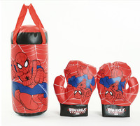 Marvel Spiderman Kids Toy Gloves Sandbag Suit Birthday Gifts Boxing indoor Toys Sports For Interaction game