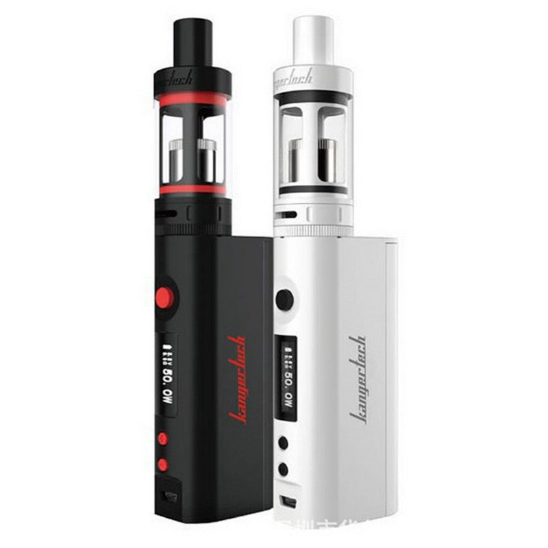 100% Original Kanger Subox Mini Starter kit 4.5ml Subtank Mini Atomizer 50W Temperature Control Kbox Mini Kanger E-cigarette Kit baby care suprim