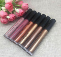 New Brand Makeup Nude Liquid Lipstick Waterproof Matte lipstick Brown Golden Lip gloss Matte Batom Brand Makeup Maquiagem