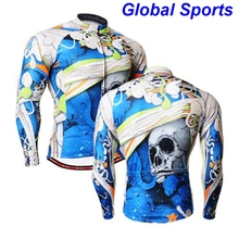 Brand Men's long sleeve cycling jersey Roupa Ciclismo/Breathable Bicycle Cycling Clothing/Quick-Dry Racing Bike Sports Wear