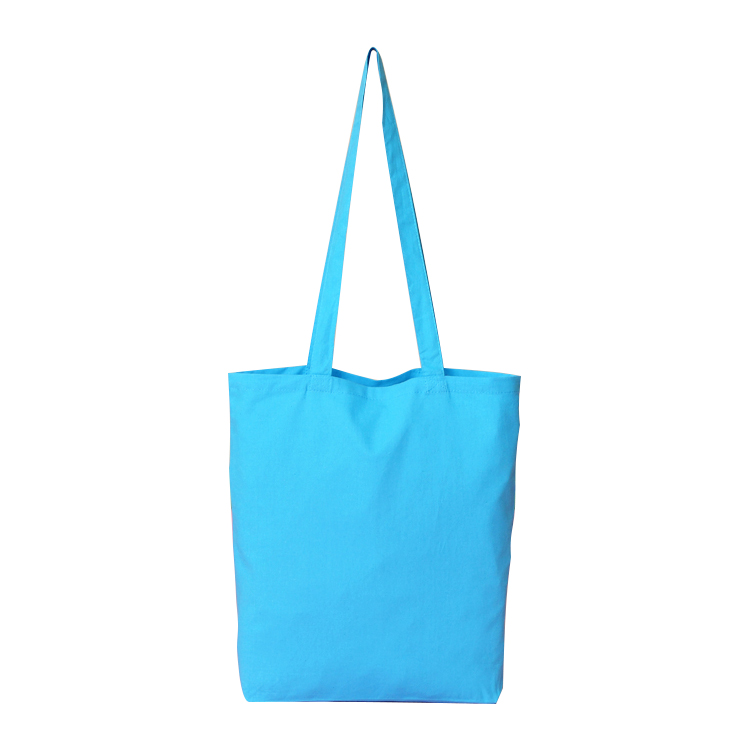 Blank Sky Blue Canvas Grocery Totes Handbags Cotton Ping Bags Available For Custom In From Luggage On Aliexpress Alibaba