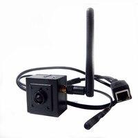 Onvif 1080P Full HD Sony IMX322 Mini Wifi IP Camera Wireless Mini SIZE 40x40mm Wifi Pin hole Camera Microphone For 2.0 MP Cam