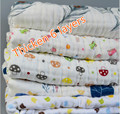 1x1.5M Multifuction Swaddle Wrap Blanket  6 Layers Thinken Soft Gauze Cotton Baby Wrap Breathable Bebe Panales Infant Diaper