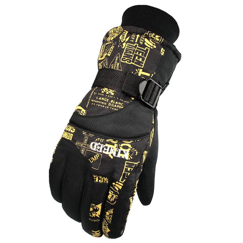 Men Women Gloves Windproof Cool Winter Waterproof Anti-skid Cycling Gloves Mountain Skiing Snowmobile Motorcycle Gloves