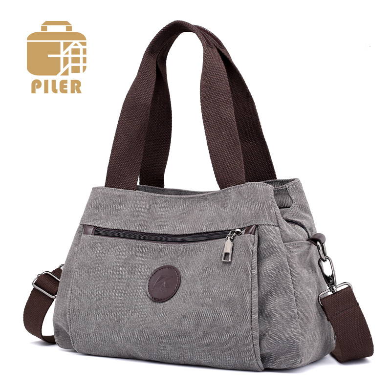 2019 Bolsos De Mujer bolso de lona para mujer Bolso grande de lona bolso de mano mujer bolsos de diseñador de señora bandolera