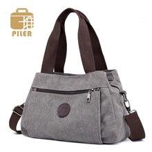 Çanta kadın çantası kanvas çanta kadınlar için 2019 büyük Tote bayan çanta bayan tasarımcı omuz askılı postacı çantaları kadın Crossbody çanta