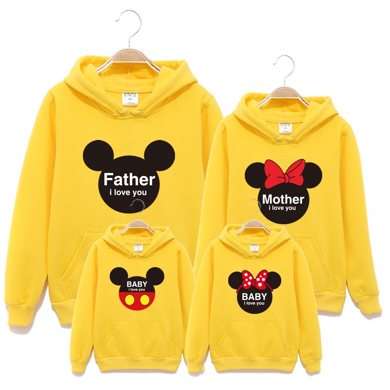 Spring-Autumn-Family-Matching-Clothes-Big-To-3Xl-Cotton-Hooded-Fleece-Mother-And-Daughter-Clothes-Family-Look-Sweater-Hoodies-2