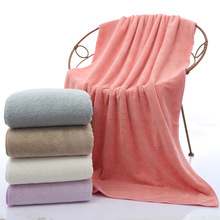 Coral velvet bath towel 70*140cm microfiber  adult to increase thickening water soft towels bathroom