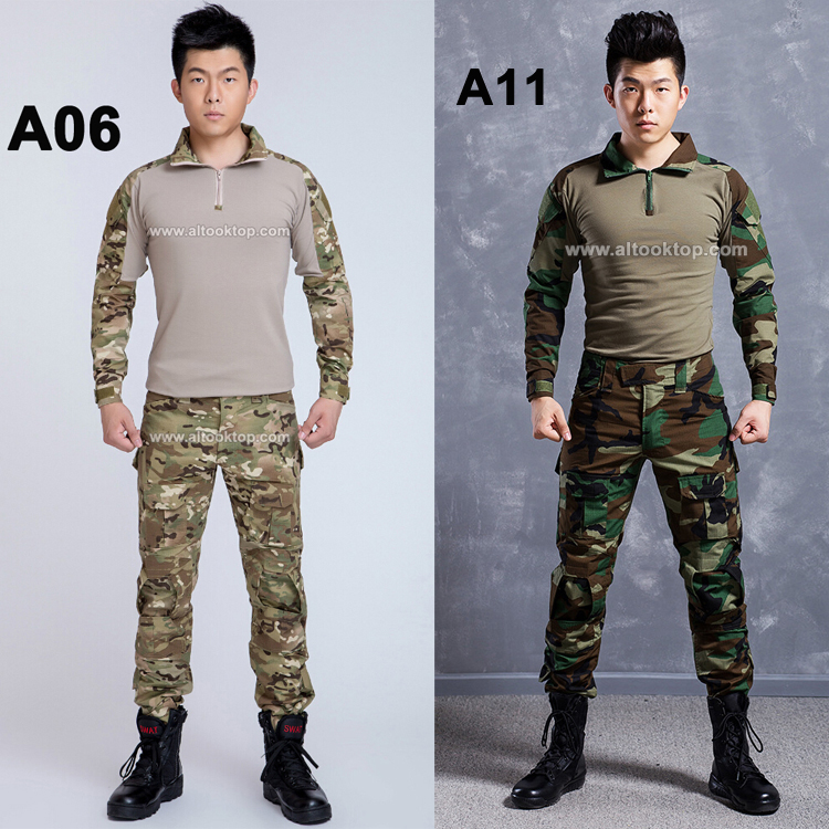 Army camouflage suit german military uniform multicam camo combat shirt tactical pants paintball equipment cs go ...
