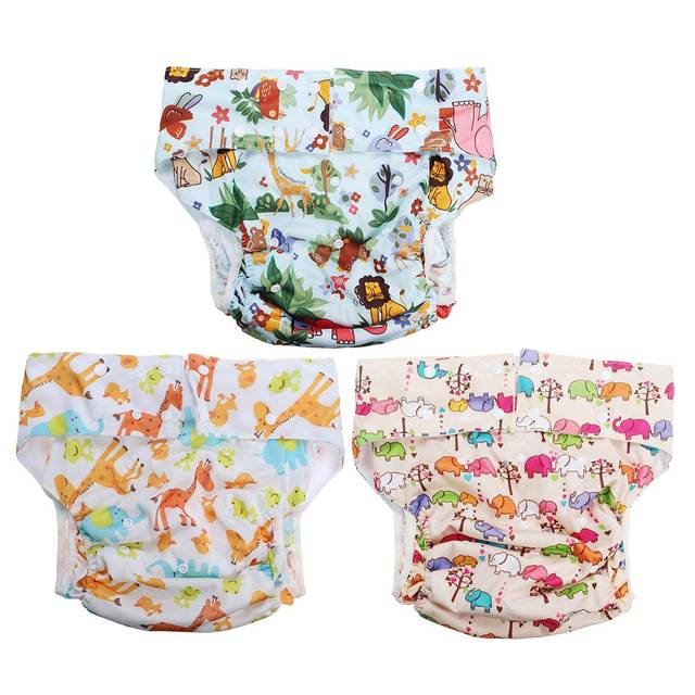 printed diapers Adult