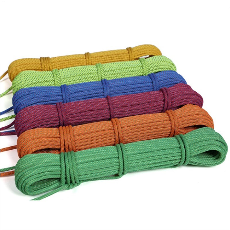 6MM  Paracord 10m/20m/31m Camping Equipment Mountaineering Rope Rock Climbing Lifesaving Rope Outdoor Auxiliary Tools