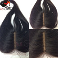 "6A Brazilian Silk Base Closure Human Virgin Hair Silk Straight Silk Top Closures 8-26"" 4X4 Free/Middle/3 Parts Silk Base Closure"