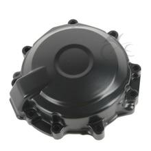 цена на Side Stator Engine Cover Crankcase For Kawasaki Ninja ZX6R ZX-6R 2007-2008 Motorcycle Black