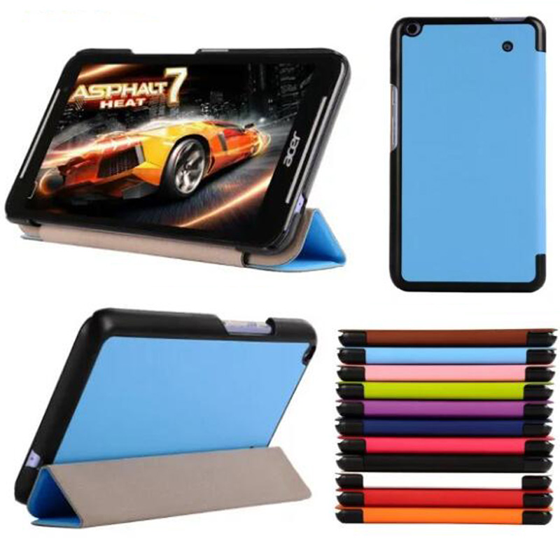 Ultra Thin Slim Custer Luxury Magnetic Folio Stand Leather Case Smart  Sleeve Cover For Acer Iconia Talk S A1-724 A1 724 7 acer iconia talk s 7 0 a1 724 16gb lte blue