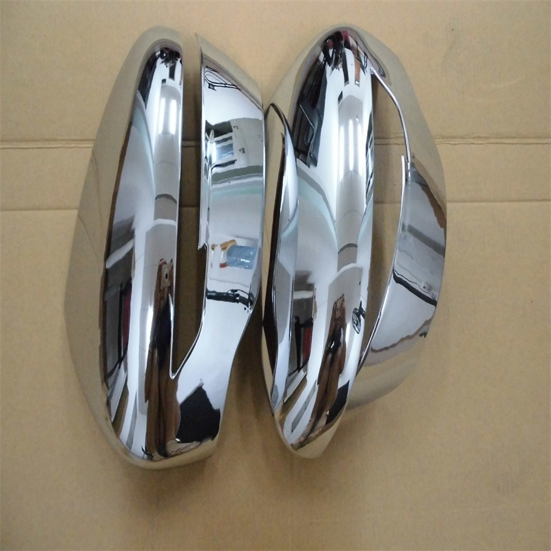 For Nissan 2014 2015 X Trail X-Trail ABS Chrome Rearview Mirrors Cover Side Door Rear View Mirror Cover Car Styling Accessories
