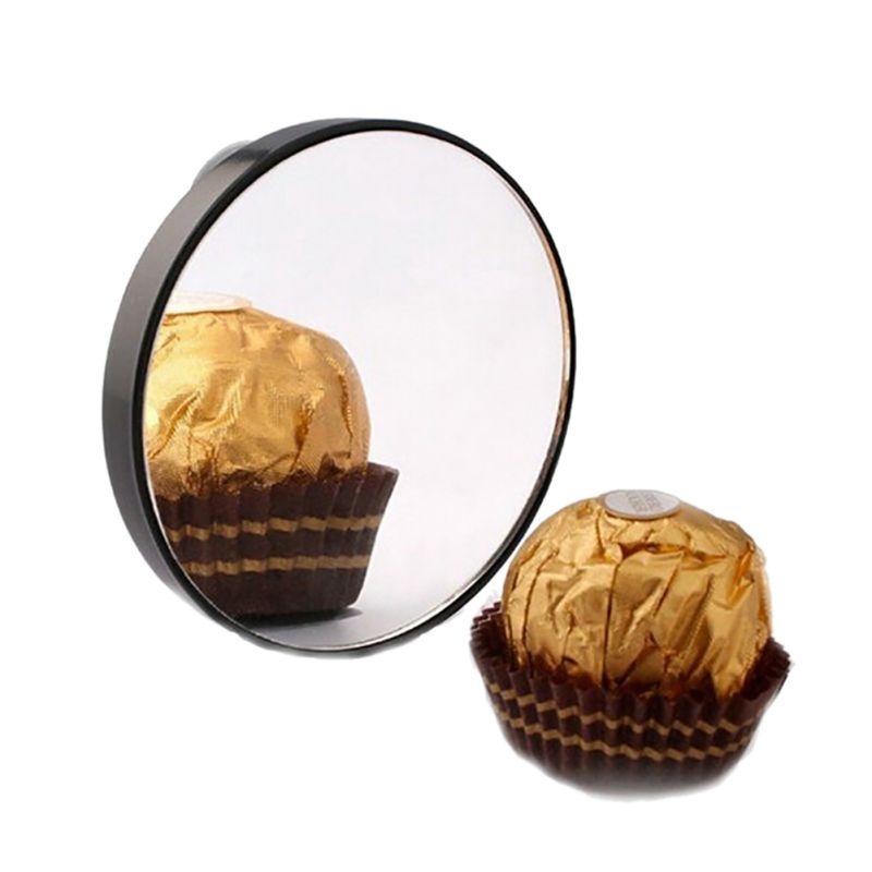 Schönheit & Gesundheit 5x 10x 15x Make-up Spiegel Pickel Poren Vergrößerungs Spiegel Mit Zwei Saugnäpfe Make-up Werkzeuge Runde Spiegel Mini Spiegel 2017 Schminkspiegel