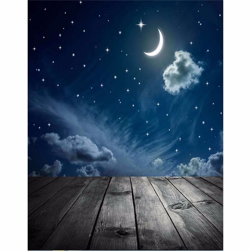 3x5ft Vinyl Photography Background Night Moon Moon Board photo Studio Props Photographic Backdrop Waterproof 0.9m x 1.5m 5 x 10ft vinyl photography background for studio photo props green screen photographic backdrops non woven 160 x 300cm