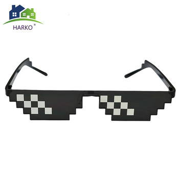 The Next Episode Deal With It Glasses 8 bits Mosaic Pixel Sunglasses Women Party Eyewear thug life Popular Around the World image