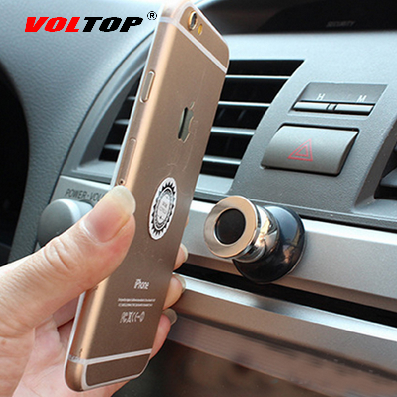 VOLTOP Magnet Phone Holder Magnetic Mobile Phone Stand Bracket Magnetite Rotatable GPS Ipad Mount Car Dashboard