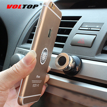 VOLTOP Magnet Phone Holder Magnetic Mobile Phone Stand Bracket Magnetite Rotatable GPS Ipad Mount Car Dashboard Air Vent Outlet