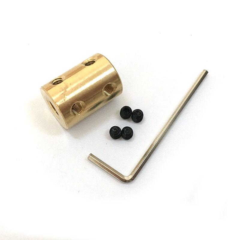 Brass Shaft coupling Rigid Coupling Coupler Motor Connector Spanner контекс презервативы romantic love ароматизированные 3шт