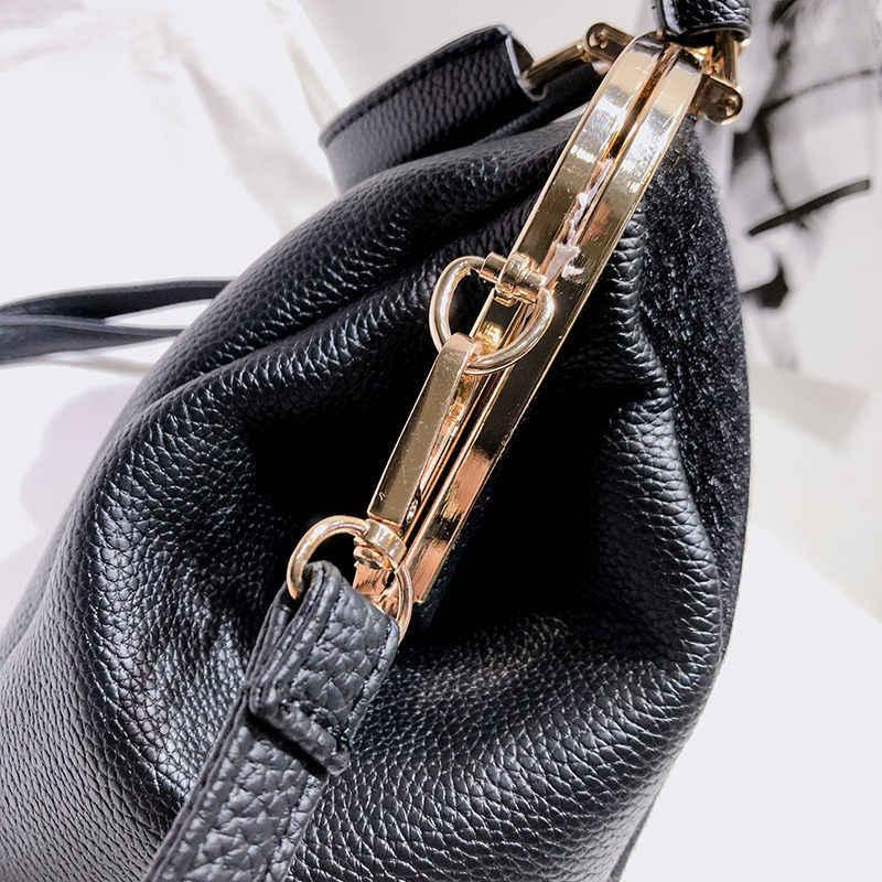 Модная женская сумка из искусственного меха, известный бренд, большая емкость, сумка с ручкой сверху, сумки на плечо, Элегантные женские кожаные сумки из конского волоса