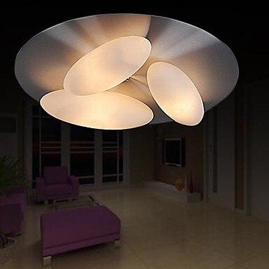 Flush Mount Modern LED Ceiling Light With 3 Lights For Living Room Lamp Fixtures,Luminarias Lustres De Sala Teto