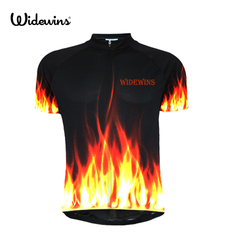 fire custom cycling jersey classic La Vie Claire Wonder flame Retro clothing bike 7163