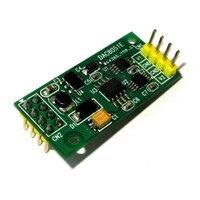 Dac8501 16 비트 dac 모듈/듀얼 출력/spi 인터페이스/전원 공급 장치 3.3-5.0 v