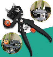 Garden Tools Grafting Machine With 2 Blades Tree Grafting Tools Cutting Pruner Professional Grafting Tool Secateurs